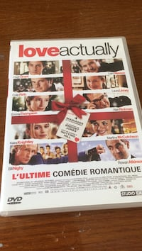 Love Actually DVD cas
