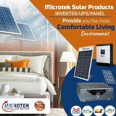 Microtek solar products poster