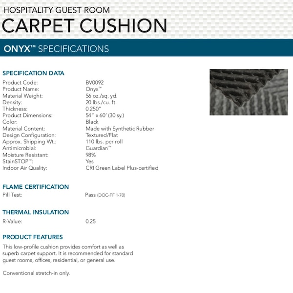Brand new rolls of carpet pad, 30 square yards each 53021ee5-3bd0-4ac5-899c-010cf391e910