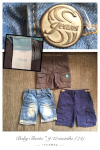 Baby Shorts * 9-12 Monate (74) * jede EUR 3,-
