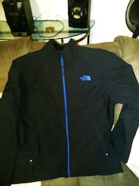 Black and blue North face coat Chicago, 60616