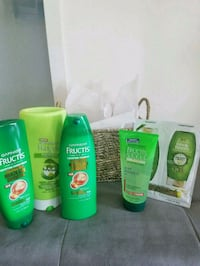 GIFT. New Garnier Haircare Product & wicker basket Edgewater, 07020
