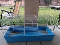 blue and white pet cage Bakersfield, 93311