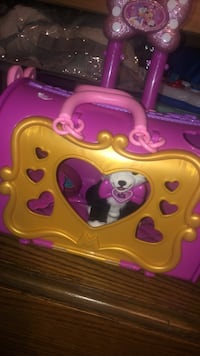 minnie mouse kitty toy
