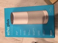 Echo plus with built in smart home hub  Mississauga, L5M 6N2