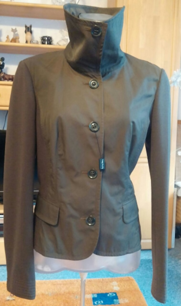 NEU Damen Jacke Blazer Gr.38 in Khaki von Betty Barclay P.159,95€