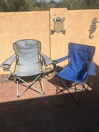 2 camp chairs for $20