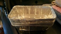 Aluminum loaf pans (disposable) 10 count Winchester, 22601
