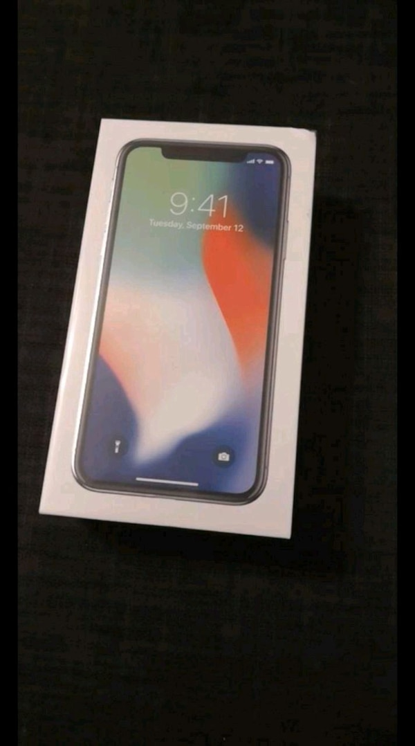 Iphone X 256GB NY!!!