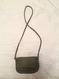 KHAKI LEATHER MINI PURSE Montreal, H8R 2M1