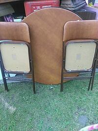 Game table and two chairs  $15 Spokane, 99207