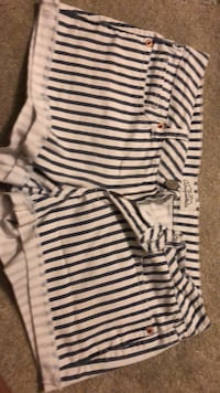 white and black stripe onesie Germantown, 20874