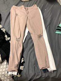 Pink Ripped Jeans Lincoln, 68505