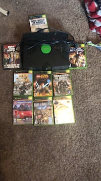 Black xbox 360 console with controller and game ca Dumont, 07628