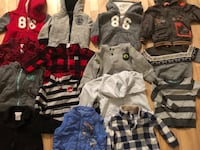 toddler's assorted clothes 788 km