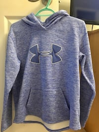 Blue and whiteunder armour pullover hoodie Barrie, L4M 6X4