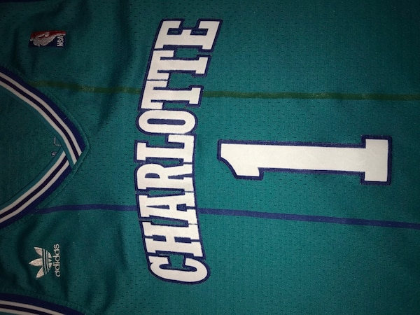 df8bc41b0b7 Used Charlotte  Bogues  1 adidas jersey for sale in Burbank - letgo