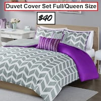 AJ- BRAND NEW- Zakary Duvet Cover Set Mississauga