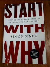 Start With Why by Simon Sinek Barrie, L4N 7L8