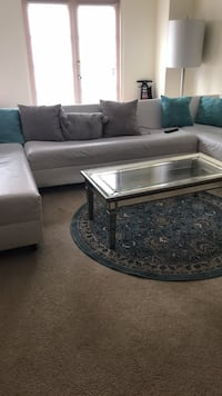 gray and black sectional couch Boca Raton, 33432