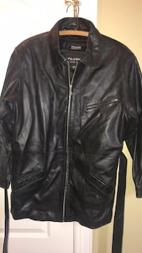 Wilson's leather black womens jacket size Lg Bealeton, 22712