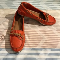 pair of red leather boat shoes Chandler, 85226