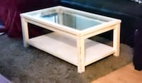 Glass top coffee table Mississauga, L4Z 0A3