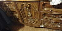 brown wooden sideboard Penticton, V2A 4T3