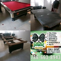 pool table movers Cutler Bay