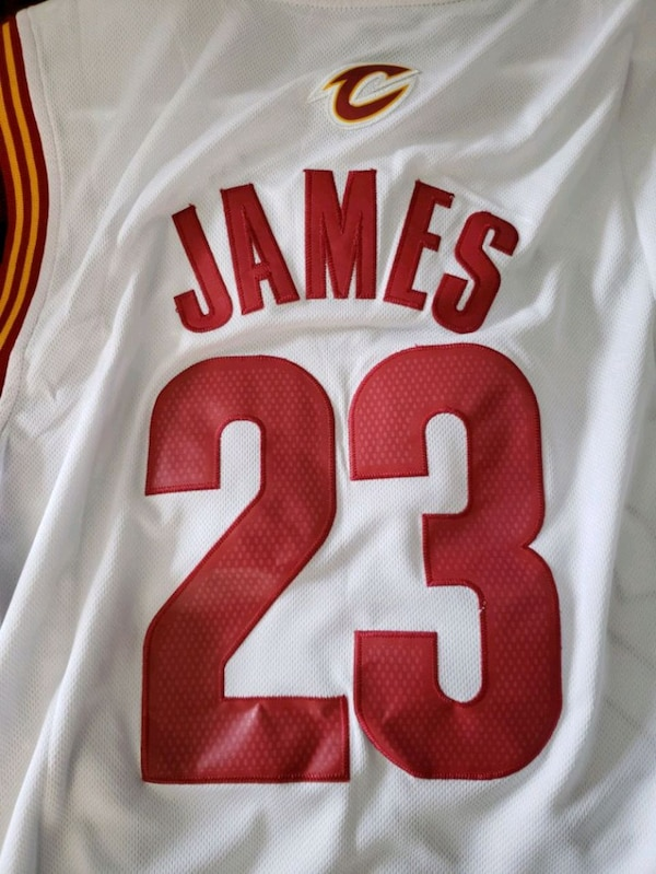 los angeles 93b1b 3b7d8 Never worn brand new Adidas Lebron James Jersey.