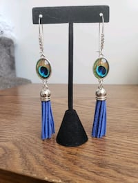 Hand Designed and Crafted Fringe Earring Set