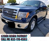 Ford - F-150 lariat - 2013 $2000 DOWN PAYMENT Houston
