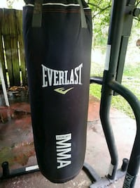 black Everlast heavy bag with stand Tampa, 33614