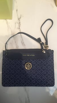 black Michael Kors leather crossbody bag