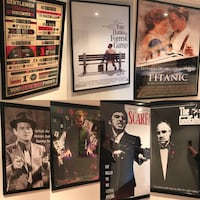 Various movie posters - not framed