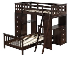 Twin/Twin Loft Bunk Bed    ** New-in-Box **