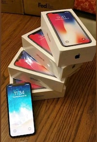 Apple iPhone x 256GB Silver  VALENCIA