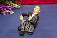 Vintage butler wine holder and four butlers decor wine decor figures Calgary, T3E 6L9