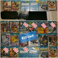 Wii U games and Console and accessories  Surrey, V3R 4V4