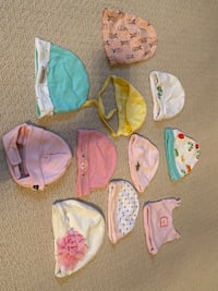 Hats. Sizes from NB to 6-9 months Vaughan, L6A 0P1