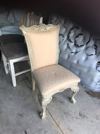 two gray fabric padded chairs Port Arthur, 77642