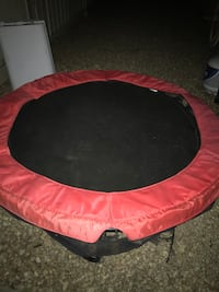round red and black trampoline San Jose, 95118