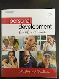 Personal Development for Life and Work - School Textbook Ajax, L1T 4M8