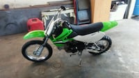 green and black Kawasaki motocross dirt bike Beckley, 25801