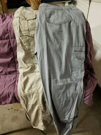 2 pairs size 12 Cropped-Capris $4 for both Fresno, 93722