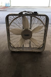Moving sale! Box fan