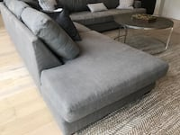 Slate gray sectional Los Angeles, 90035