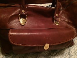 Orlando monde bag all leather inside and out