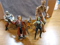 guardians of the galaxy figurine set, including 2 others Hamilton, L9H 1W5