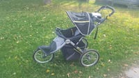 JEEP black and gray jogger stroller Lonsdale, 55046